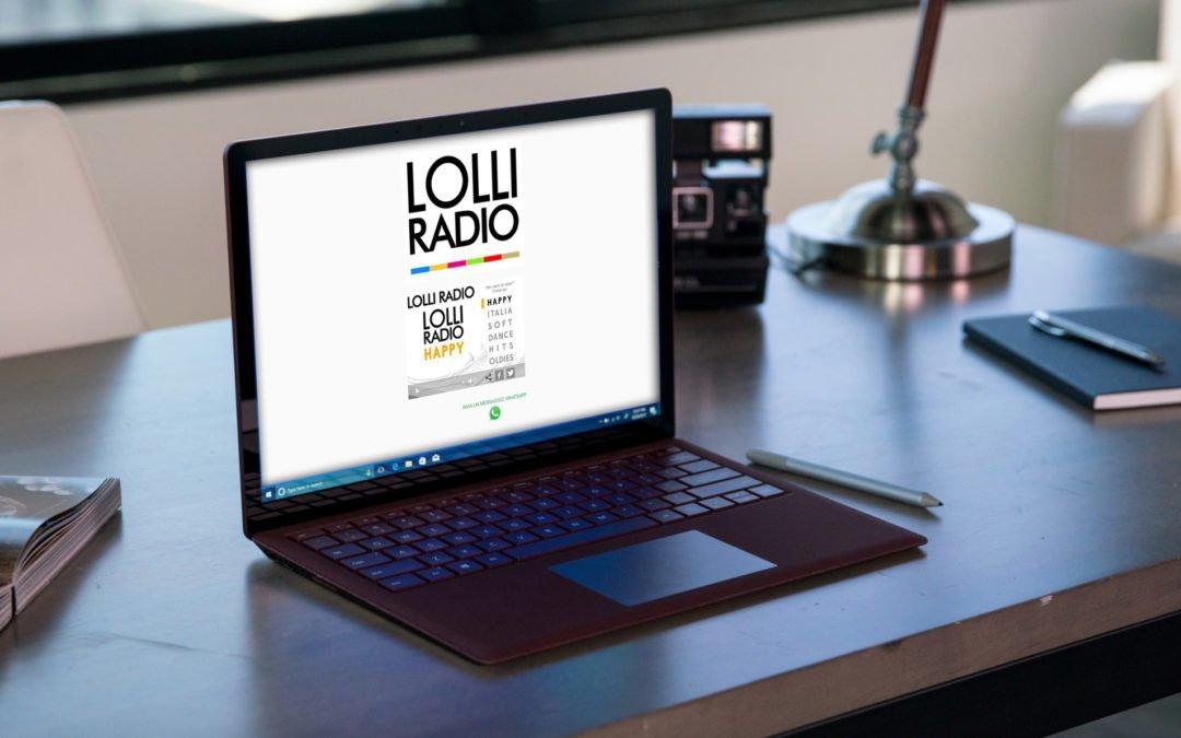 Il nuovo portale di LolliRadio è on-line !